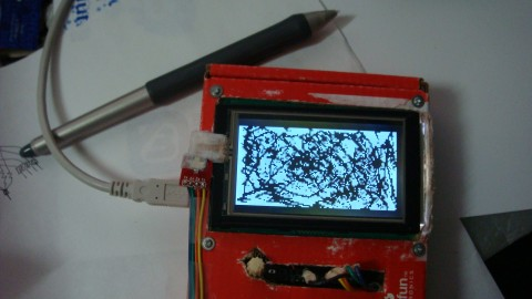 GLCD touchscreen 1